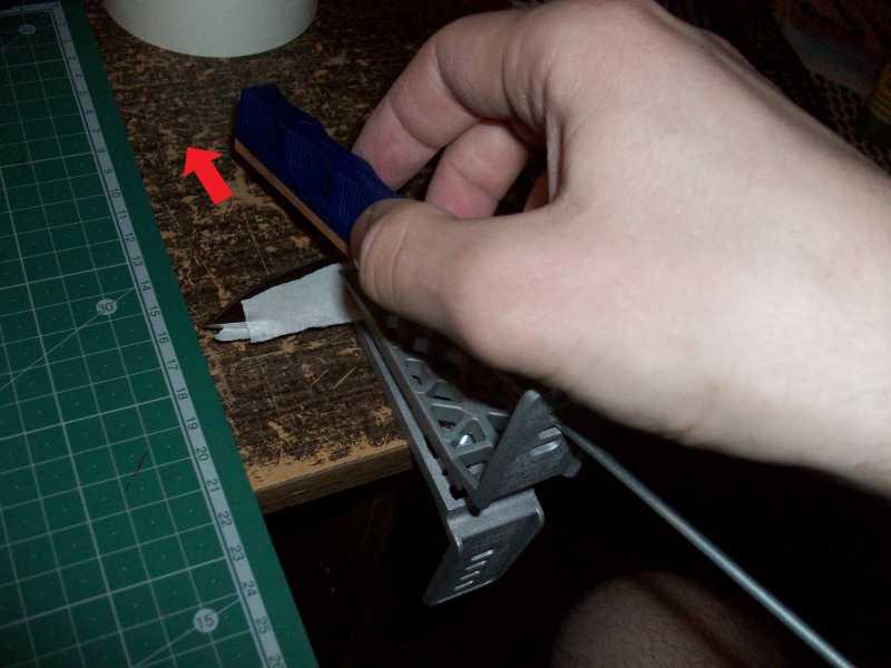 10)Моя походно-бытовая точилка с незамысловатым названием «Лански универсал кнайф шарпенинг систем»