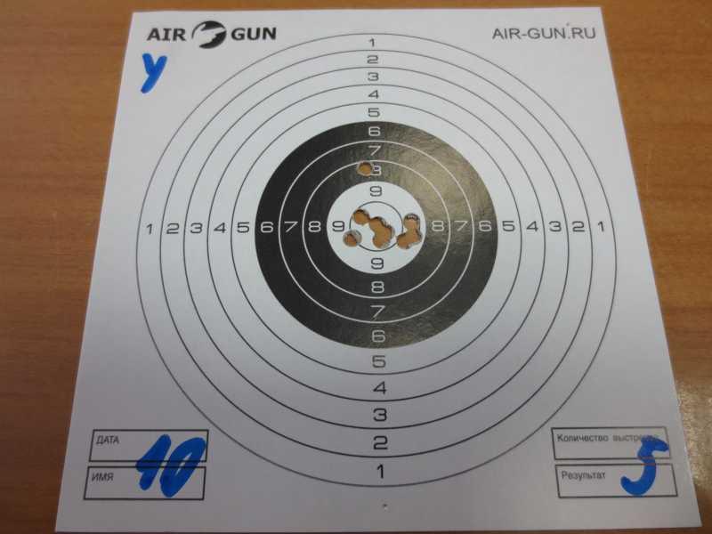 3)Результат стрельбы из Мурки