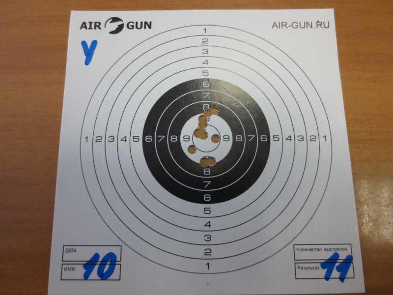 4)Результат стрельбы из Мурки