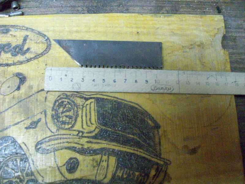 2)Процесс изготовления клинка финского типа