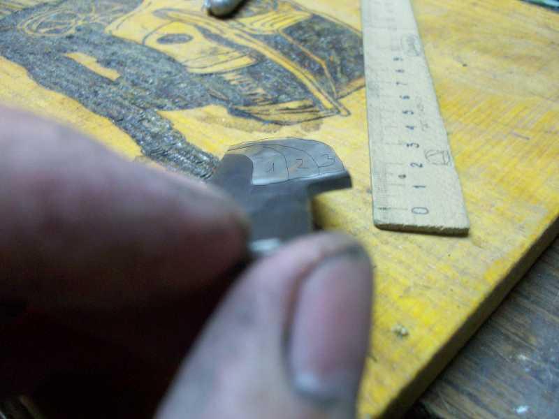 16)Процесс изготовления клинка финского типа