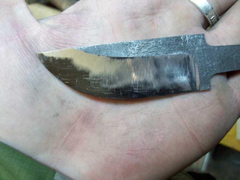 19)Процесс изготовления клинка финского типа