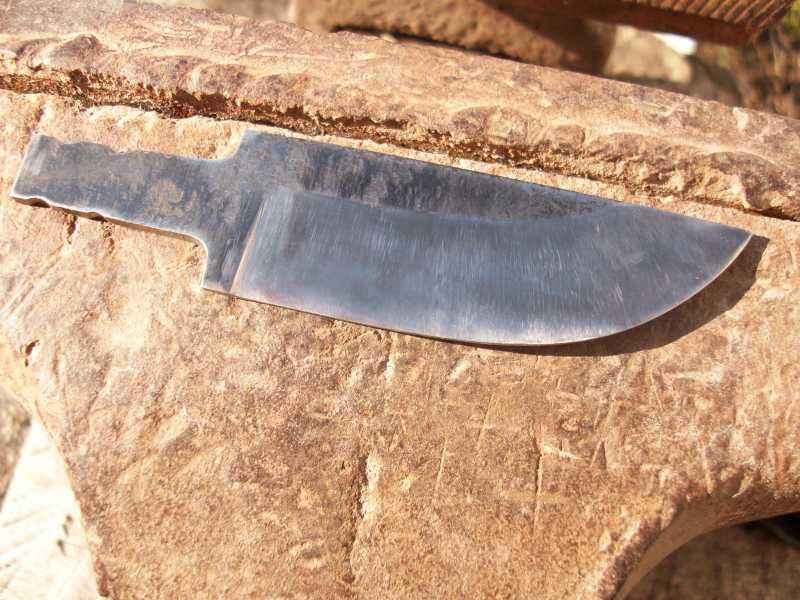 28)Процесс изготовления клинка финского типа