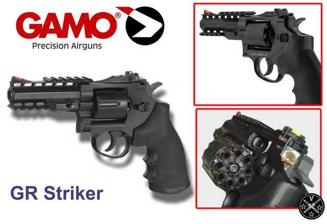 Конструктивные элененты нового пневматического пистолета компании Gamo
