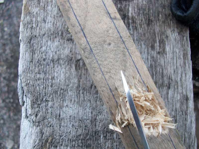 13)Мой рабочий нож