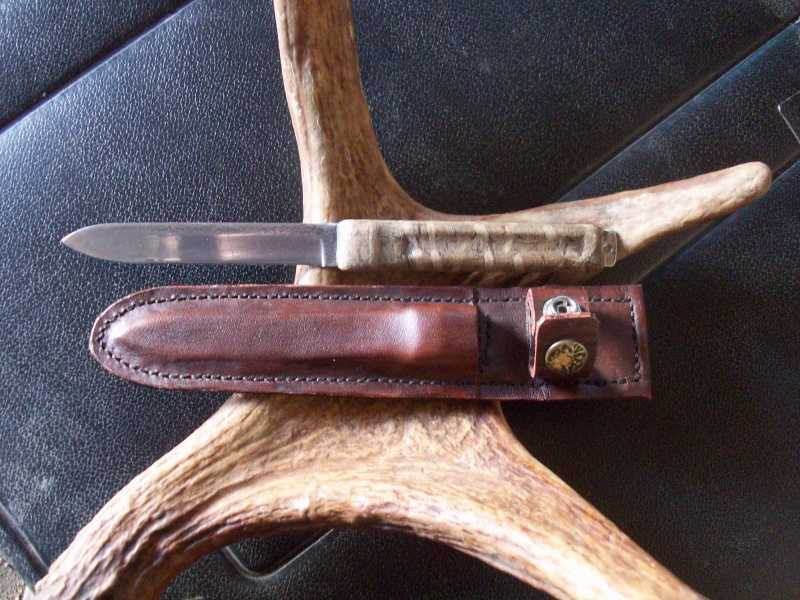 21)Мой рабочий нож