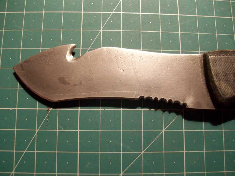 3)Еще один страшный ножег
