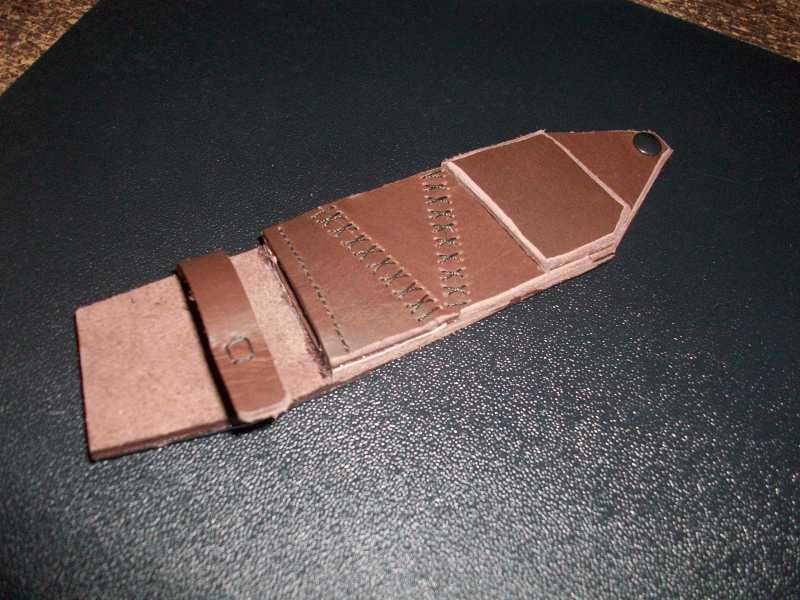 9)Кружок (чехол для ножа своими руками)
