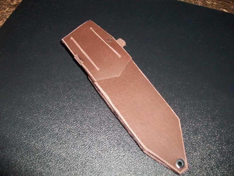 10)Кружок (чехол для ножа своими руками)