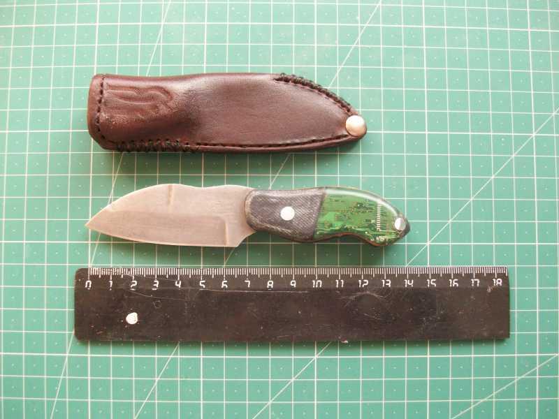 4)Кружок (чехол для ножа своими руками)