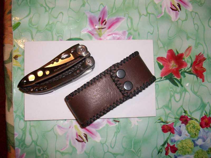 6)Кружок (чехол для ножа своими руками)
