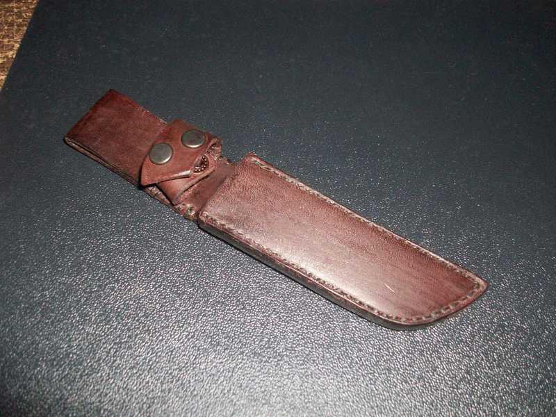 8)Кружок (чехол для ножа своими руками)