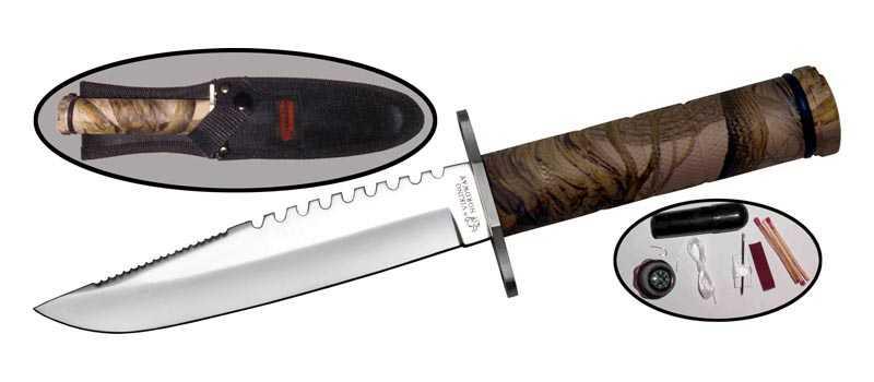 5)Типа нож для Рембо.