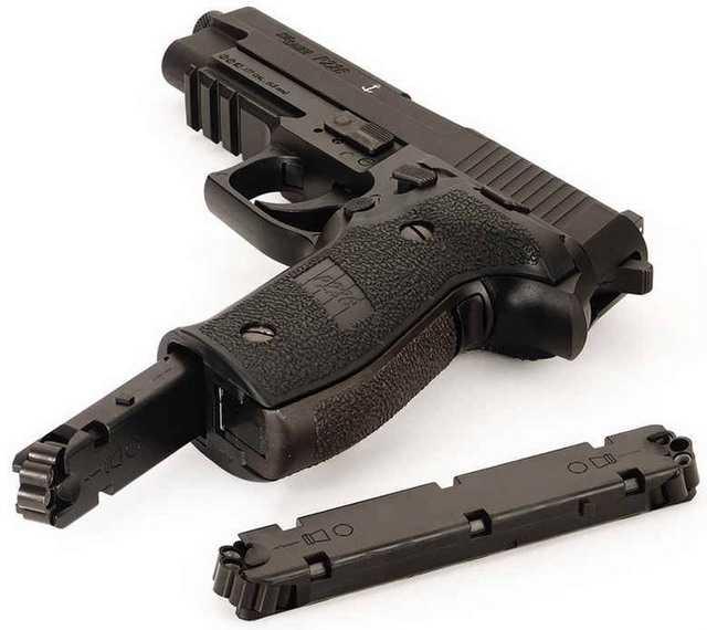 Магазин нового пневматического пистолета Sig Sauer P226
