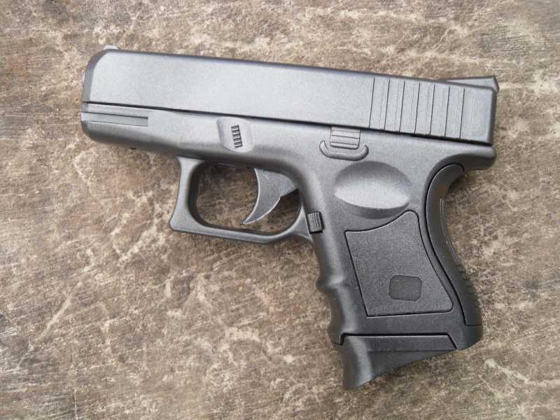 1)Обзор спрингового Glock 26 от CYMA