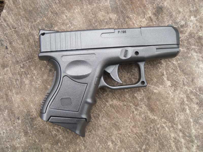 2)Обзор спрингового Glock 26 от CYMA