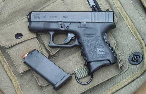 3)Обзор спрингового Glock 26 от CYMA