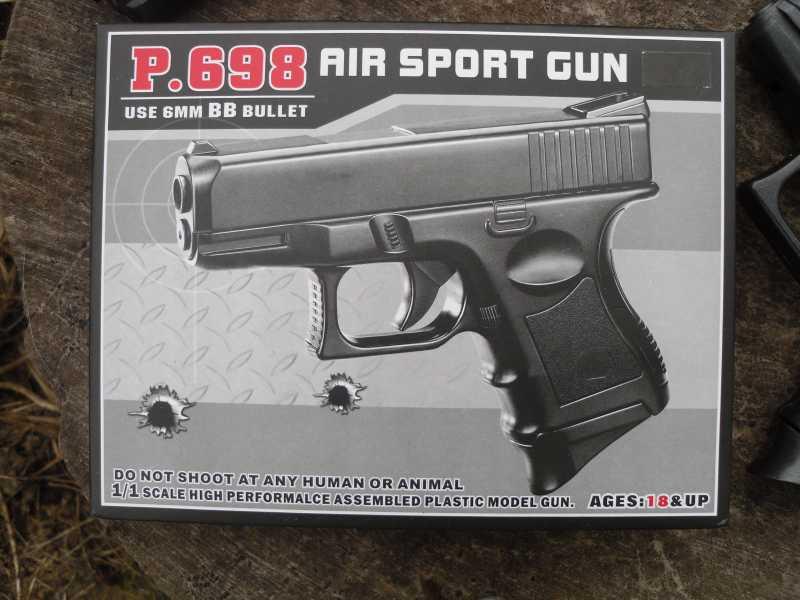 4)Обзор спрингового Glock 26 от CYMA