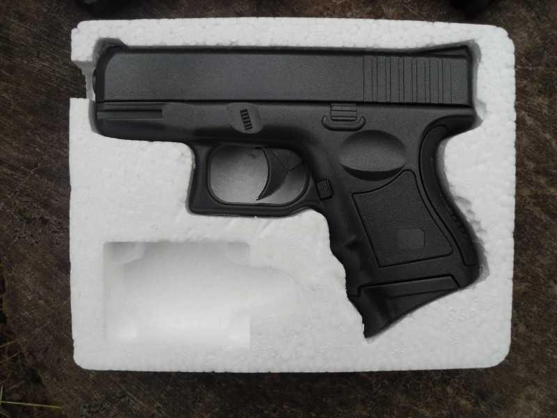 5)Обзор спрингового Glock 26 от CYMA