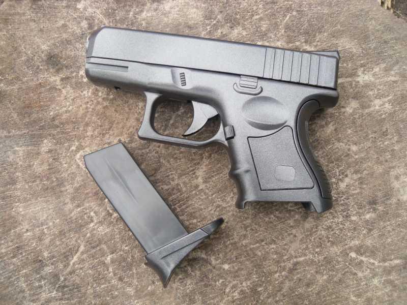 11)Обзор спрингового Glock 26 от CYMA