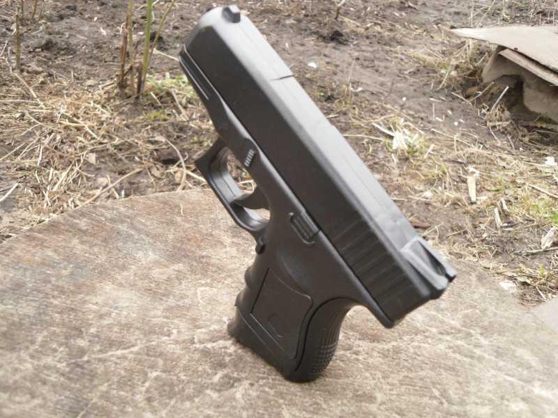 13)Обзор спрингового Glock 26 от CYMA