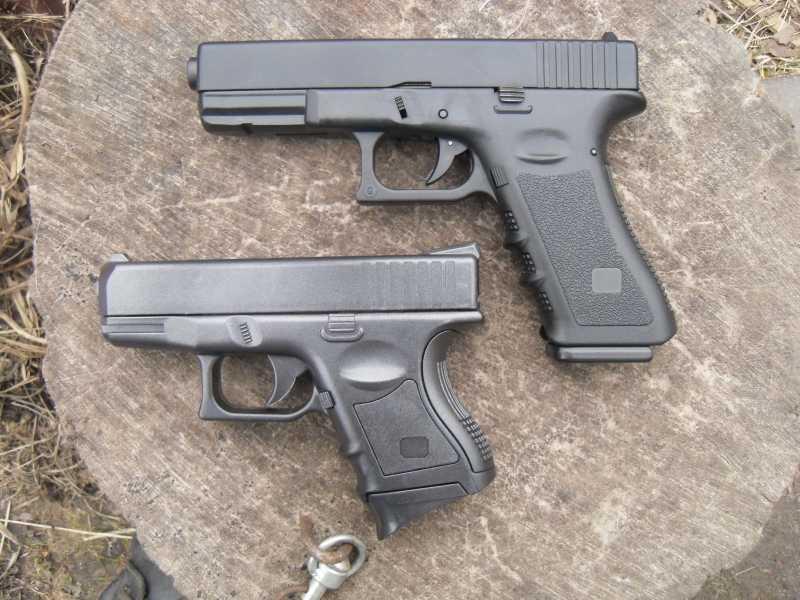 14)Обзор спрингового Glock 26 от CYMA
