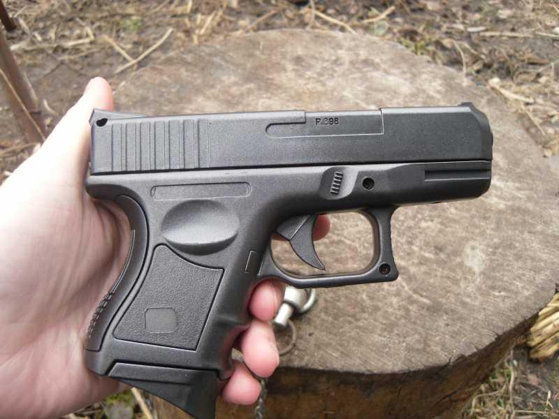 8)Обзор спрингового Glock 26 от CYMA