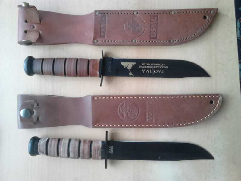 1)Ножи KA-BAR vs. MFH. Найди отличия.