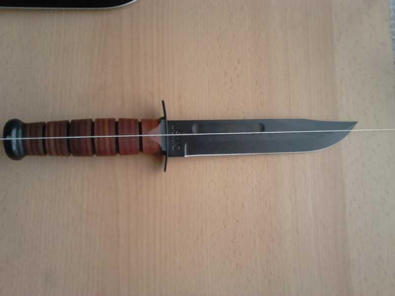 16)Ножи KA-BAR vs. MFH. Найди отличия.
