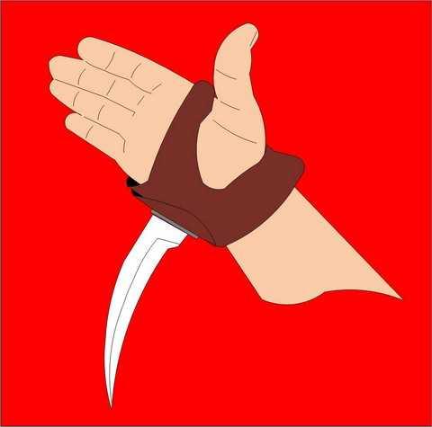 Нож Серборез или Сербосек