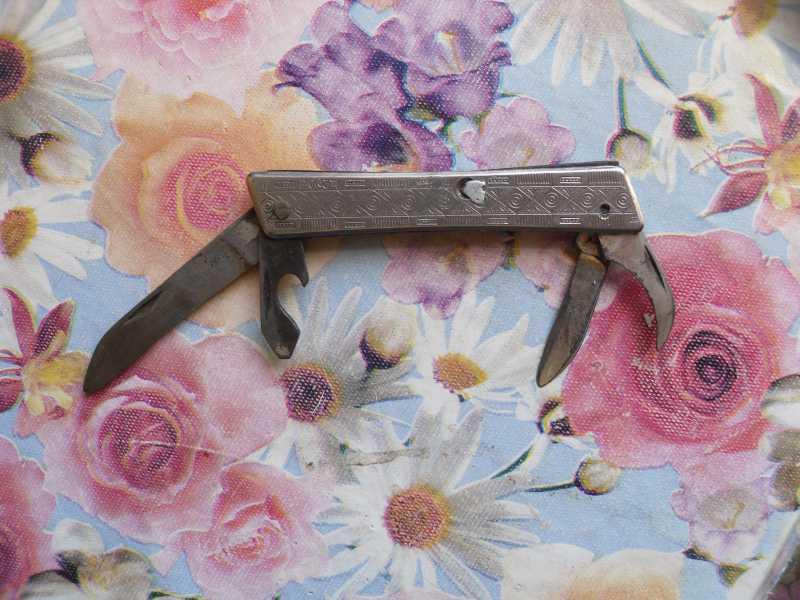 4)Мои советские ножи