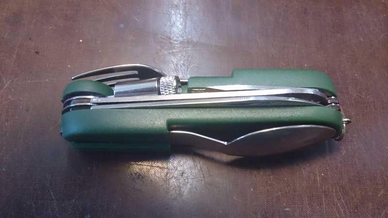 3)Армейский стандарт. (многофункциональный нож)