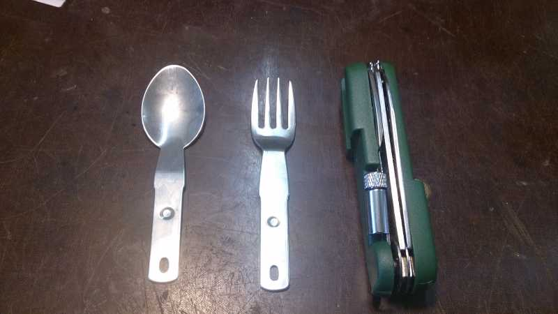 4)Армейский стандарт. (многофункциональный нож)