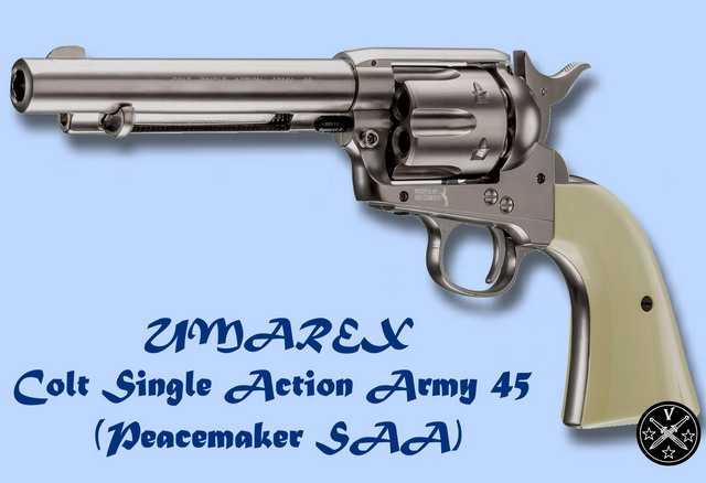 Новый пневматический револьвер компании Umarex - Colt Peacemaker