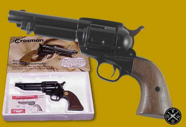 Пневматическая копия Colt Peacemaker компании Croaman