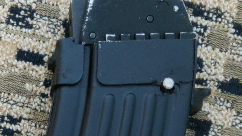 5)Магазин к Cybergun AK-47