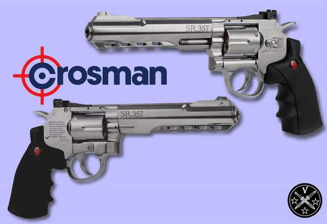 Общий вид нового револьвера SR357