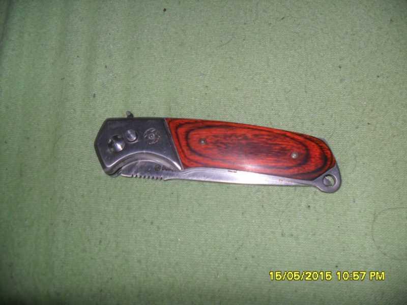 1)Нож складной автомат Min Sheng  подарок на совершеннолетие
