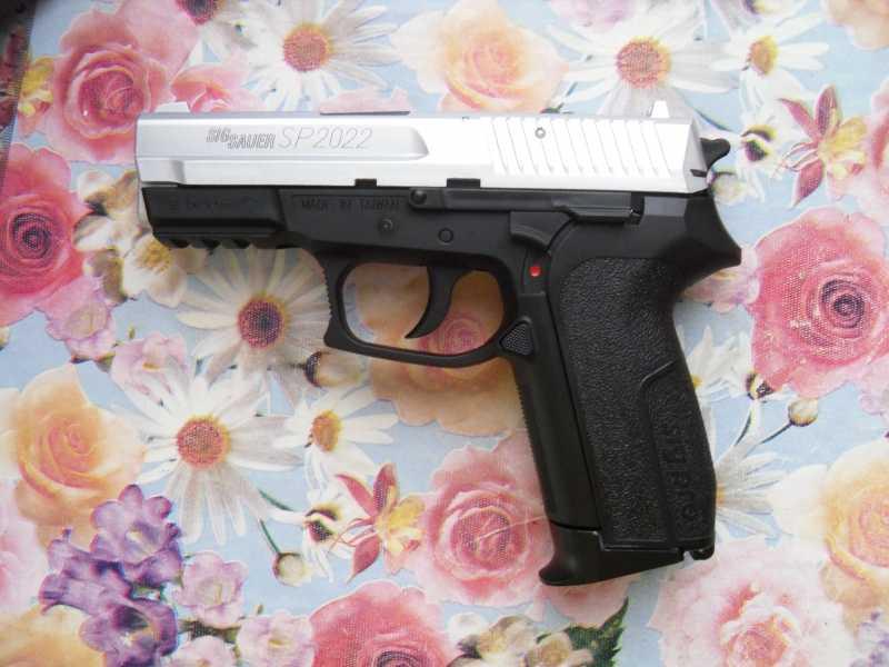 6)Пистолет друга