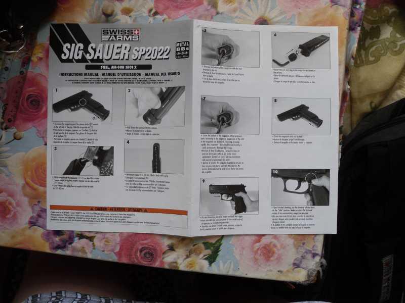 3)Пистолет друга