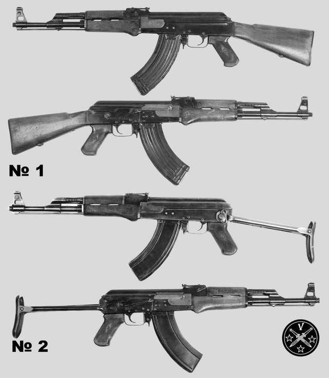 Предсерийные образцы АК 1948 года