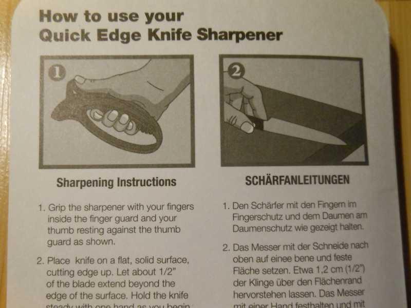 6)Удобная, недорогая и безопасная точилка Lansky (only для кухонных ножей)
