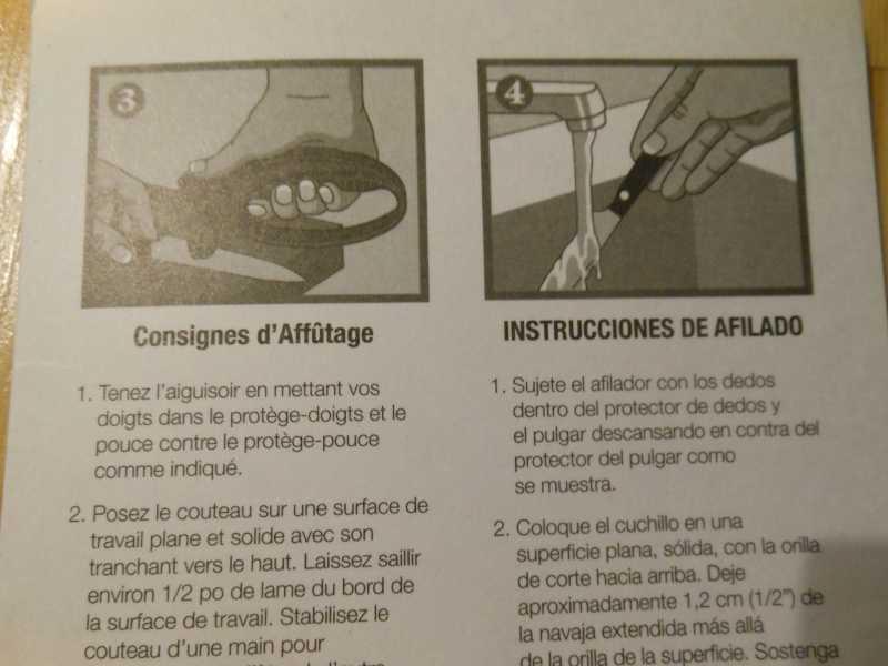 7)Удобная, недорогая и безопасная точилка Lansky (only для кухонных ножей)