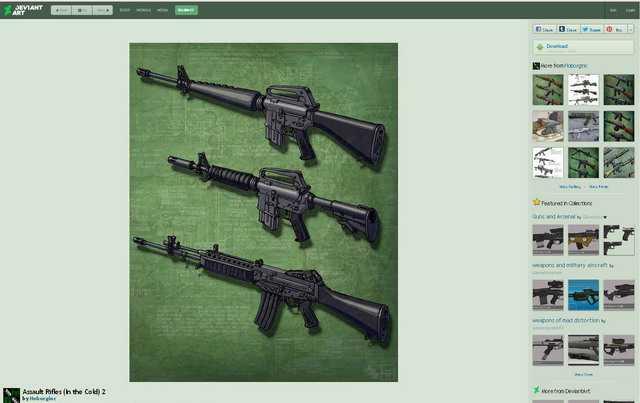 Страница сайта hoborginc.deviantart.com