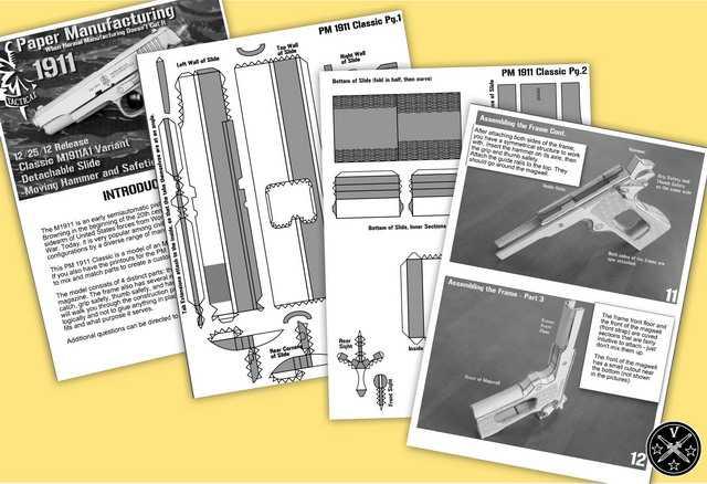Выкройки и инструкция по сборке