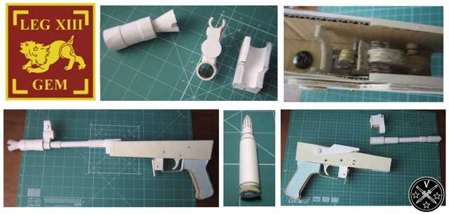 Заготовки бумажной модели АКСУ