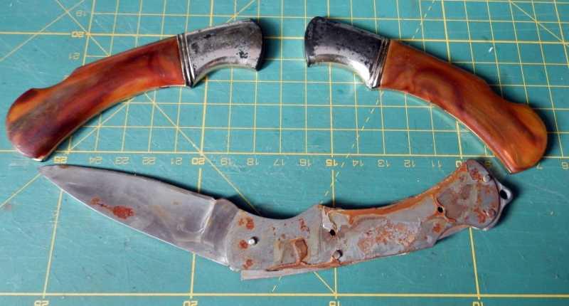 11)Незатейливое восстановление ножей