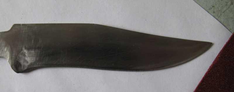 6)Восстановление ножа из тепловозного клапана