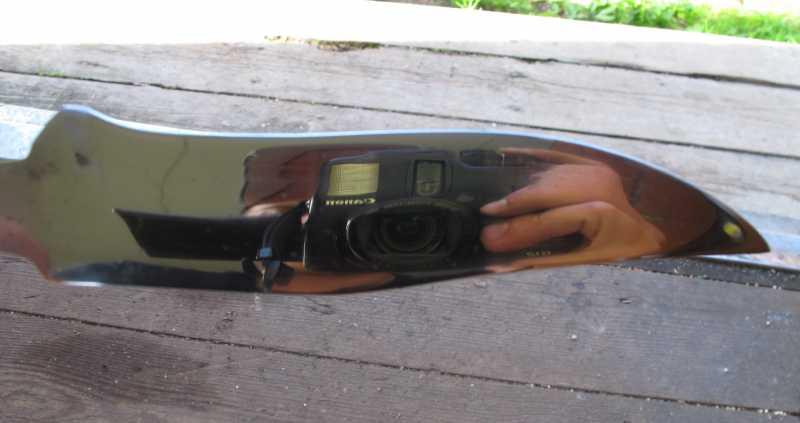 12)Восстановление ножа из тепловозного клапана