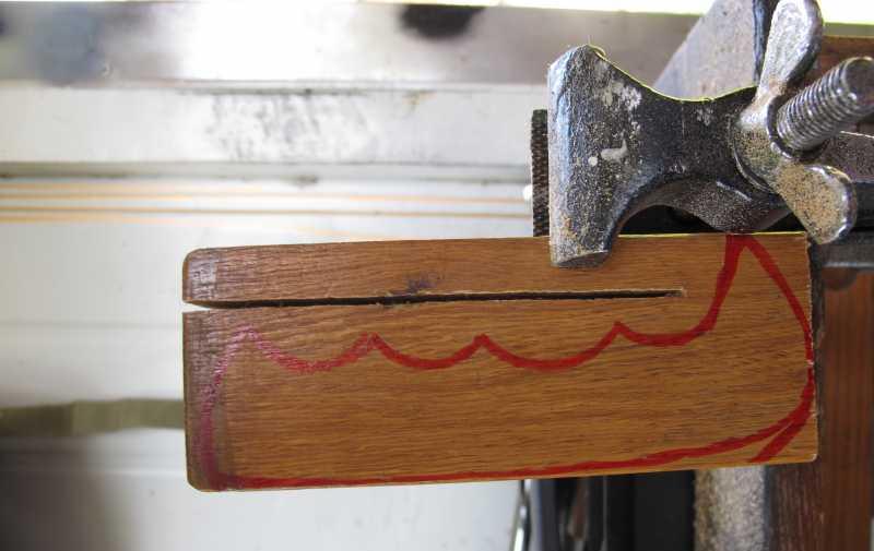 14)Восстановление ножа из тепловозного клапана